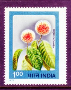INDIA 762 MNH VF Flowers