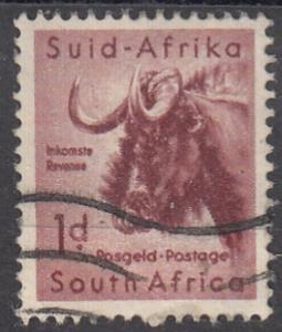 South Africa, Scott # 201, Used, 1954