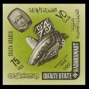 1966 Aden Qu'aiti State in Hadhramaut 79b 1968 Olympic Games in Mexiko 10,00 €