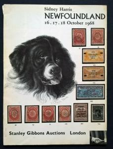 Auction Catalogue SIDNEY HARRIS NEWFOUNDLAND Stamps Postal History Flight Covers