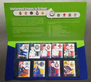 Singapore Uniformed Groups In School 2007 Uniform St. John Scout (p. pack) MNH