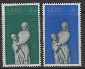 IRELAND SG309/10 1971 CHRISTMAS MNH