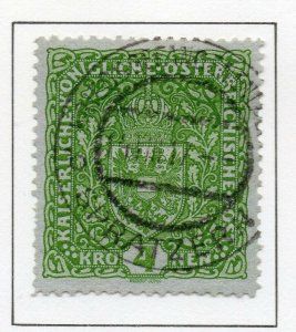 Austria 1916 Early Issue Fine Used 4K. NW-38053