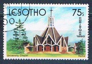 Lesotho 317 Used University Chapel 1980 (MV0082)