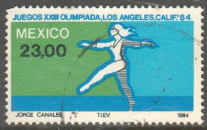 MEXICO 1353, Los Angeles Olympic Games. Used. VF. (1021)