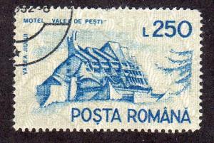Romania 3681 - Used-NH - Motel Valea de Pesti (cv $1.00)