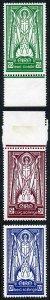 Ireland SG102/4 1937 St. Patrick Wmk SE Fresh M/Mint (5/- is U/M)
