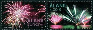 HERRICKSTAMP NEW ISSUES ALAND Sc.# 410-11 Fire Works