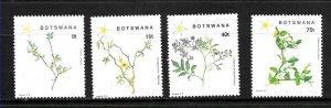 #8046 BOTSWANA 2008 FLORA FLOWERS  YV 595-8 MNH