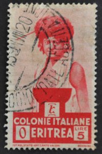 DYNAMITE Stamps: Eritrea Scott #166 – USED