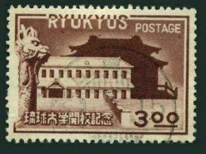 RyuKyu 14,used.Michel 18. RyuKyu University,1951.