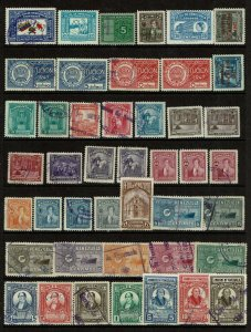 Venezuela 45 Mint and Used, some faults - G112