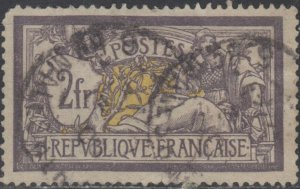 France  Sc # 126 ( z1 ) USED  Space filler  Liberty & Peace  Valued @ $ 75.00