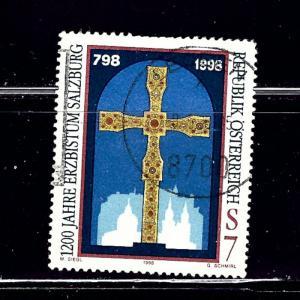 Austria 1755 Used 1998 issue