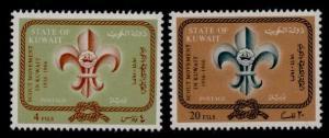 Kuwait 347A,B MNH Scouts