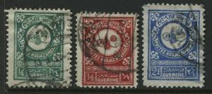 Saudi Arabia 3-1932 values used