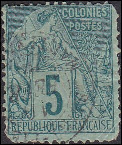 Scott French Colonies 49 Commerce Used