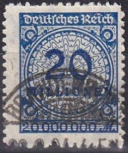 Germany #302  F-VF Used  CV $300.00  Z669