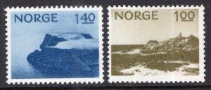 Norway 631-632 MNH VF