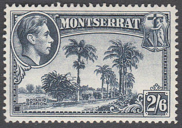MONTSERRAT GVI 2/6d SG109a fine mint lightly hinged........................29252