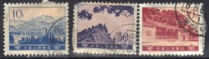 CHINA SC# 1170+1171+1175 USED 1974   SEE SCAN