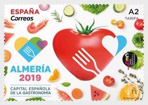 2019 Spain Almeria Capital of Gastronomy (Scott NA) MNH