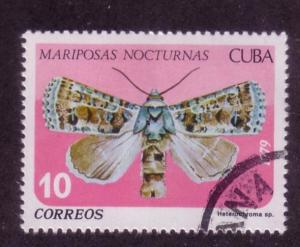 Cuba Sc. # 2259 CTO Butterflies