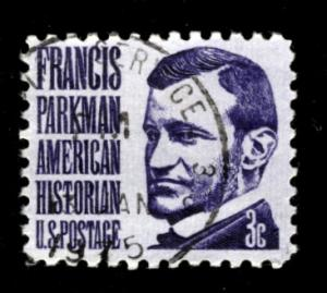 1281, Prominent Americans: F. Parkman, Single, Used, NH, VF