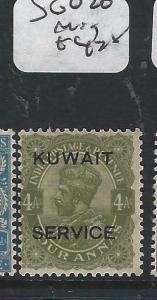 KUWAIT   (PP2704B) ON  INDIA KGV  SERVICE  4 A    SG O20   MOG