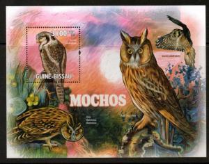 G.BISSAU 2011 OWLS SHEET MNH