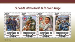 Stamps 2020 CHAD.  INTERNATIONAL COMMITTEE OF THE RED CROSS