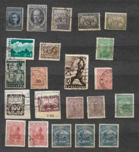 Bulgaria  stamp issues  used