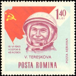 Romania #C151-C160, Complete Set(10), 1964, Space, Never Hinged
