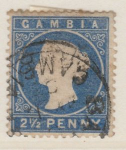 GAMBIA 1886 2 1/2d Wmk Crown CA Very Fine Used A8P11F162