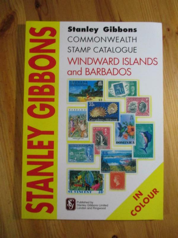 VEGAS - 2007 1st Ed, Gibbons Windward Islands & Barbados Stamp Catalogue CV114