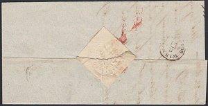 AUSTRIA SLOVENIA 1865 folded entire GOTTSCHEE to Vienna....................53603