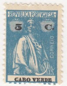 Cape Verde, Scott # 155, MH