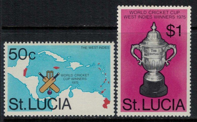 St. Lucia #403-4*  CV $2.65