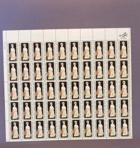 1273, John S Copley, Mint Sheet, CV $12.00