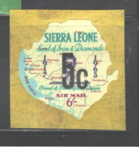 S. LEONE 1965 S.GIBBONS(ONLY) 4th ISSUE #363 MNH; SEE NOTE IN SCOTT, BUT NO #