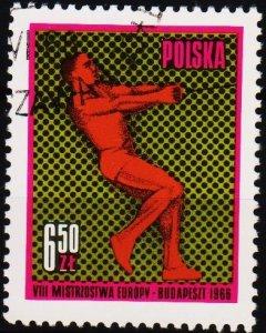 Poland. 1966 6z50 S.G.1665 Fine Used