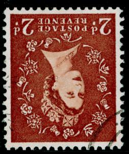 SG573Wi, 2d light red-brown, FINE USED, CDS. Cat £70. WMK INV