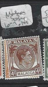 MALAYA MALACCA  (P0704BB)  1C-2C, 4C  SG 3-4, 6   MOG