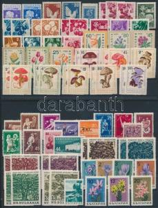 Thematic lot stamp Flowers,plants Bulgaria 1938-1960 77 stamps MNH 1938 WS193837