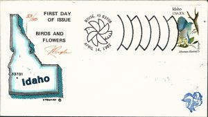 Beautiful Pugh Designed and Painted FDC Idaho-only 50 created...