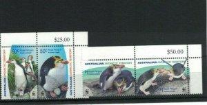 AAT108) Australian Antarctic Territory 2007 WWF Royal Penguins CTO/Used