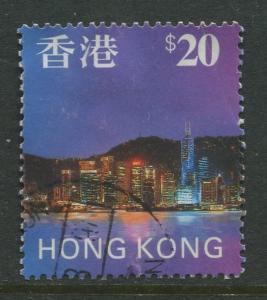 STAMP STATION PERTH Hong Kong #777 QEII Definitive 1997 FU  CV$5.25.