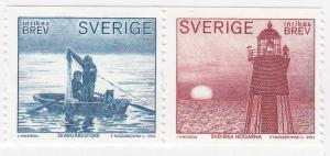 Sweden, Sc # 2483 (1), MNH, 2004, Horizontal Pair
