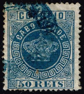 Cape Verde #14 Crown; Used (2Stars)