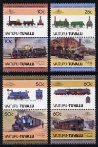 Tuvalu - Vaitupu 1985 Locomotives #1 (Leaders of the Worl...